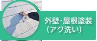 外壁・屋根塗装(アク洗い)